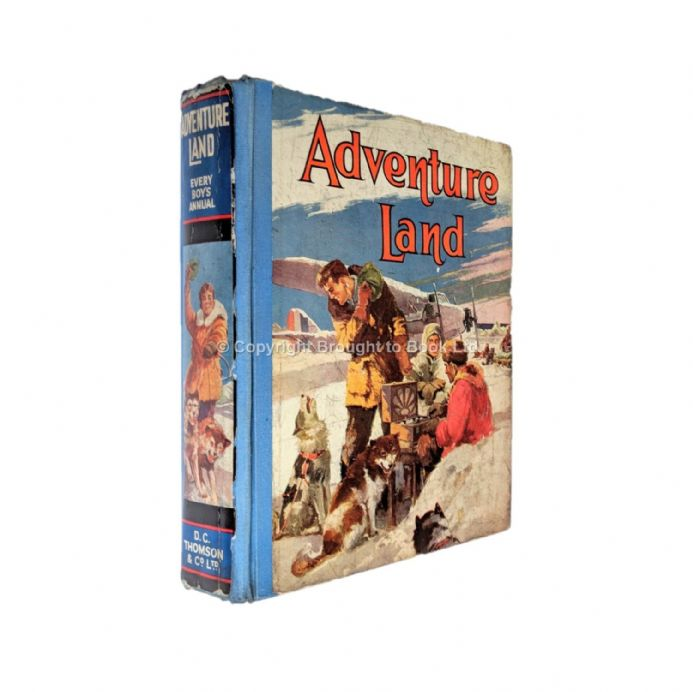 Adventure Land Annual 1932 D.C Thomson